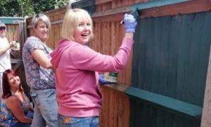 Volunteers at Forest Holme