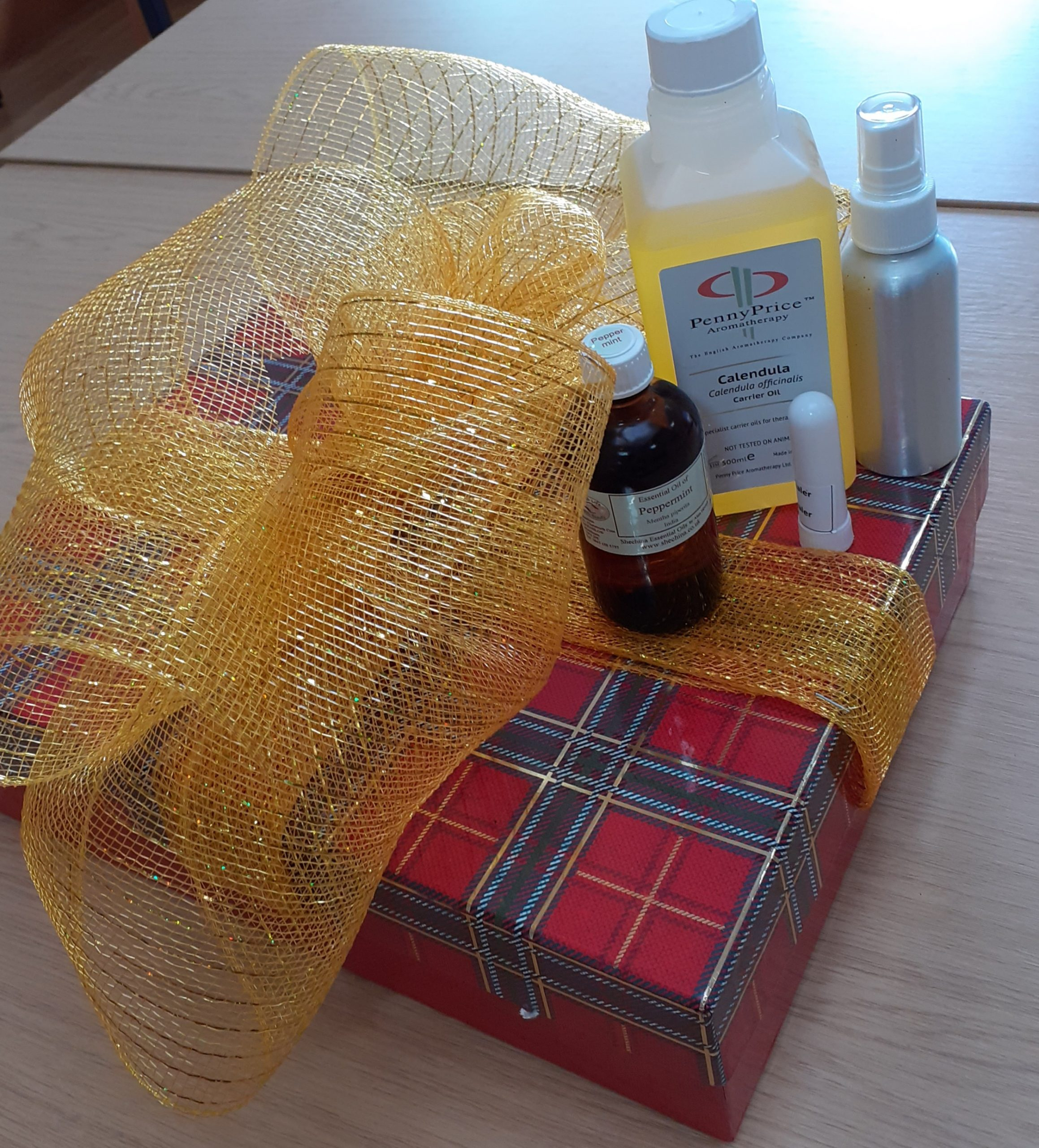 Day 2: Complementary therapies box