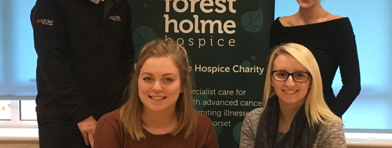 FOREST HOLME HOSPICE WINS THE VOTE AT B4B