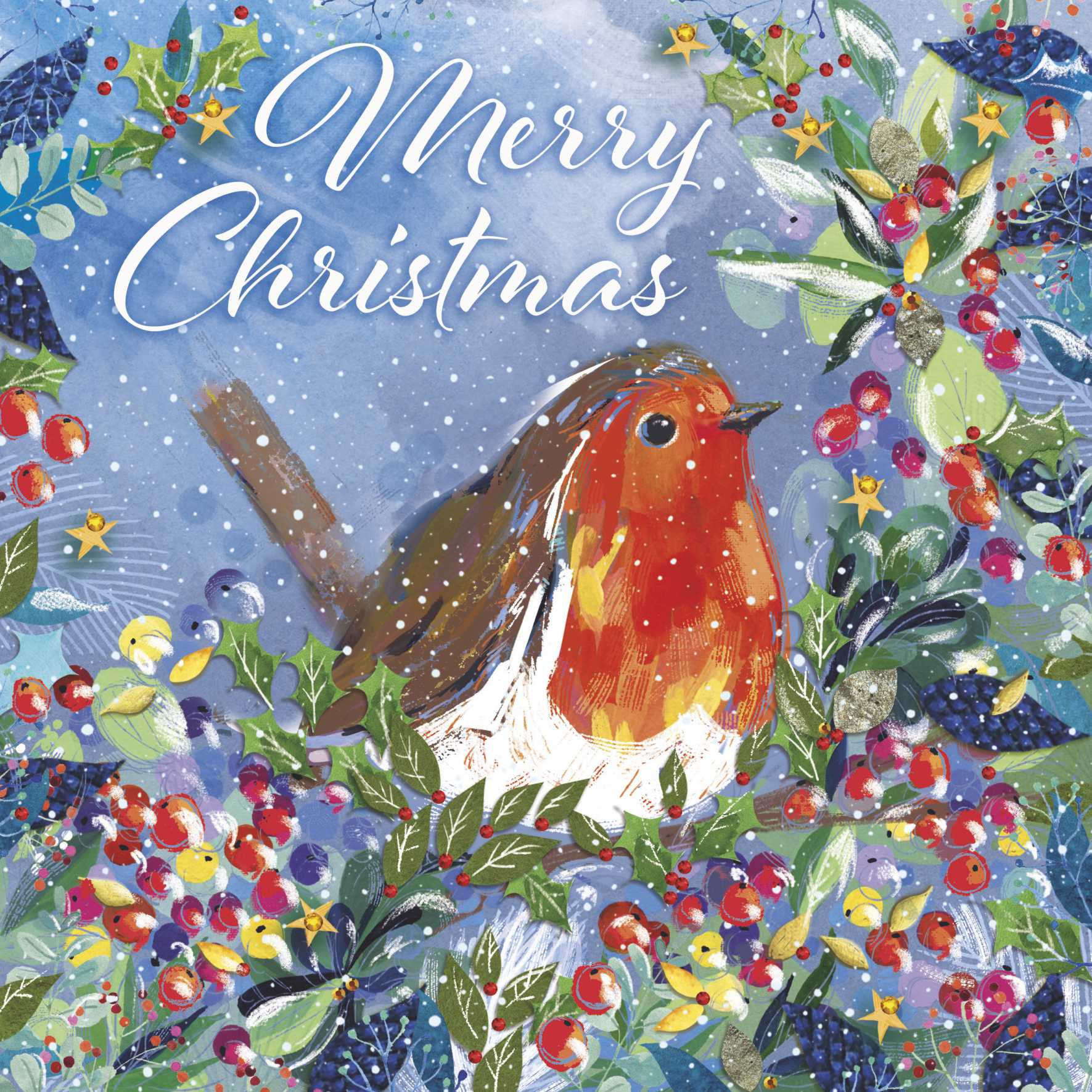 Robin Christmas Cards (Pack of 10)